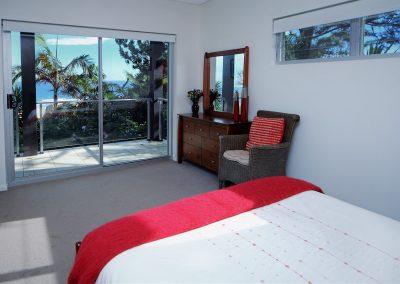18 red bedroom